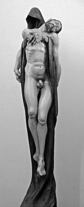 Valladolid  Medina del Campo.Centro Cultural S.Vicente Ferrer. Cristo en brazos de la Muerte