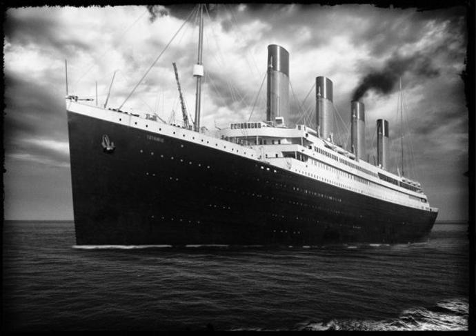 Una imagen del Titanic del año 1912