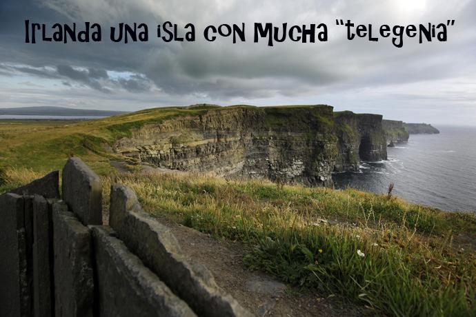 Acantilados Moher en el Condado de Clare. Turismo de Irlanda BR