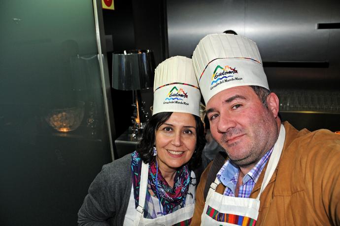 Guatemala. Taller cocina con el chef  Humberto Dominguez. Foto: Mario Cruz Leo