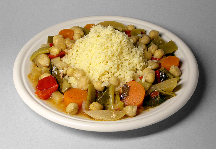 Cuscus de verdura