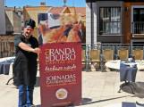 En la Terraza del Hotel Villa de Aranda para la presentación de las Jornadas de Lechazo Asado de Aranda de Duero