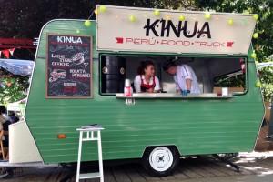Spain Eating Tour furgoneta de Kinua